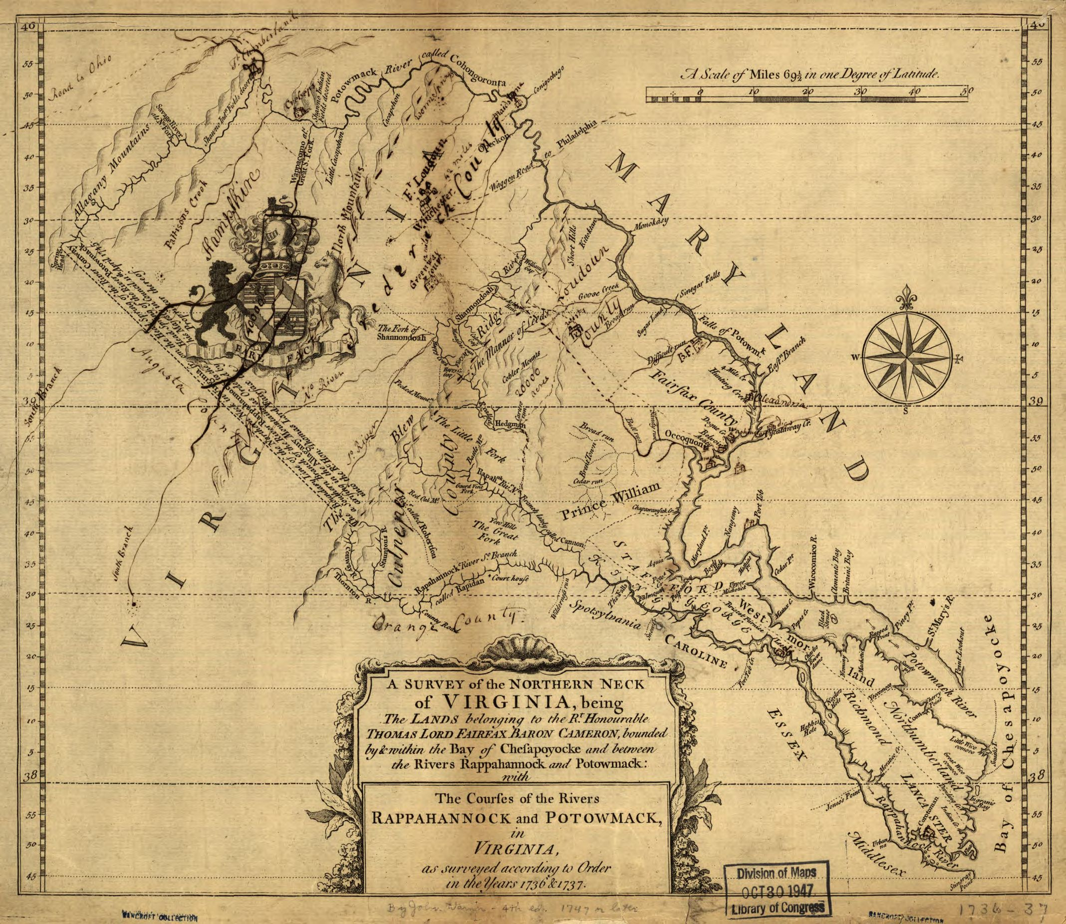 Virginia Northern Neck Land Documents